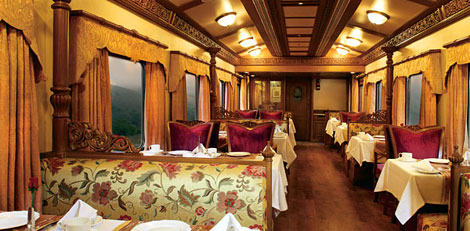 The Golden Chariot luxury tourist train.