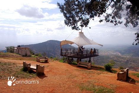 View point - Nandi Hills (Nandidurg), Chikkaballapur.